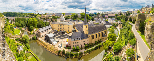Photo Panoramic cityscape of Luxembourg