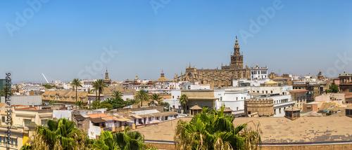 Foto op Plexiglas Kiev Panoramic view of Sevilla