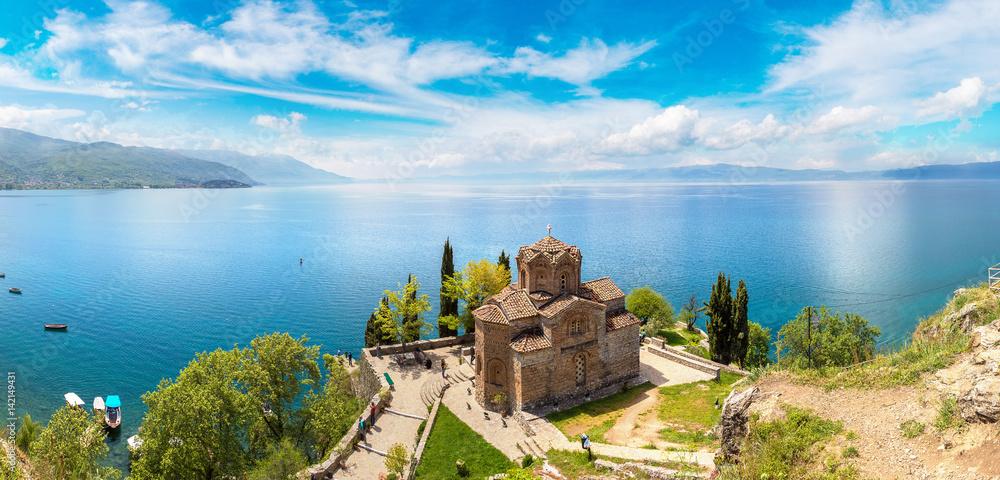 Fototapety, obrazy: Jovan Kaneo church in Ohrid, Macedonia