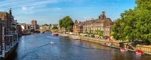 River Ouse in York, England, United Kingdom