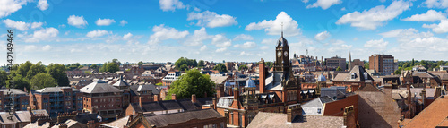 Wall Murals Northern Europe Panoramic view of York, England