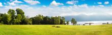 Lake Loch Lomond In Scotland
