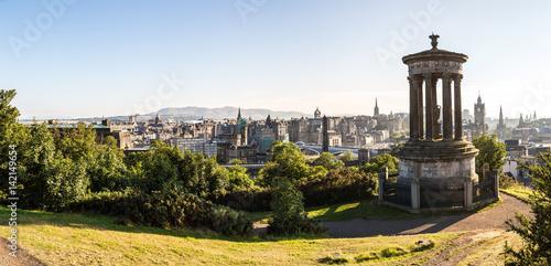 Plakat Zamek w Edynburgu z Calton Hill