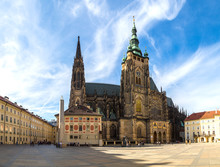 St. Vitus Cathedral In Prague ...