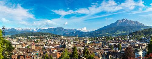 Valokuva Panoramic view of Lucerne