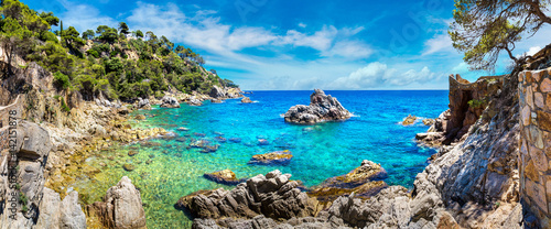 Canvas-taulu Coast of Lloret de Mar i