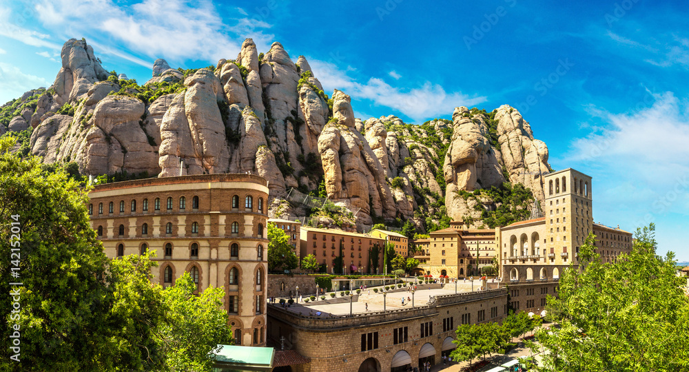 Fototapety, obrazy: Santa Maria de Montserrat abbey
