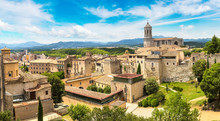 Panoramic View Of Girona