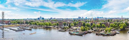 Poster Amsterdam Panoramic view of Amsterdam