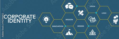 Corporate Identıty Icon Concept