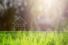 Conceptual Eco Home Healthy Li...