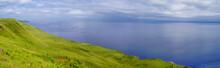 Beautiful Panorama Of Scotland Coastline