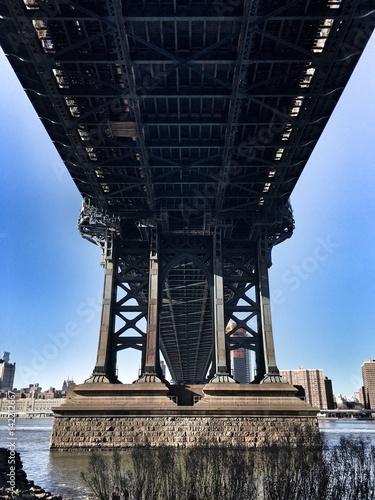 Photo  Down Under Manhattan Bridge DUMBO