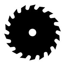Saw. Icon. Vector. Symbol