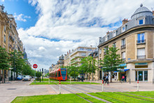 Tram On The Streets Of Reims, ...