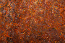 Old Rusty Metal Sheet Background