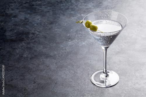 Pinturas sobre lienzo  Martini cocktail