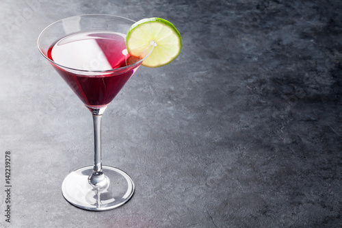 Cosmopolitan cocktail - Buy this stock photo and explore