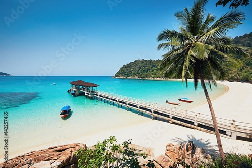 Fotografía  Amazing beach in Malaysia