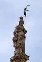 Saint Florian Statue In Maribor Slovenia, Europe.