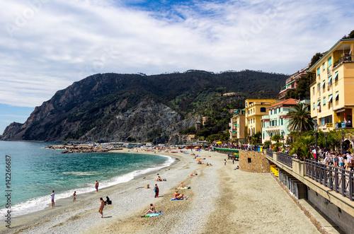 Garden Poster Nice Monterosso al Mare, a coastal village and resort in Cinque Terre, Italy
