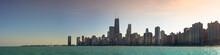 Chicago Skyline Sunset / Sunrise