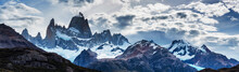 Panorama Of Mount Fitz Roy In ...