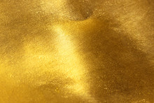 Shiny Yellow Leaf Gold Foil Te...