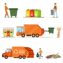 Garbage Collector At Work Seri...