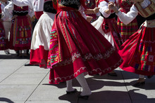 Traditional Portuguese Dancers