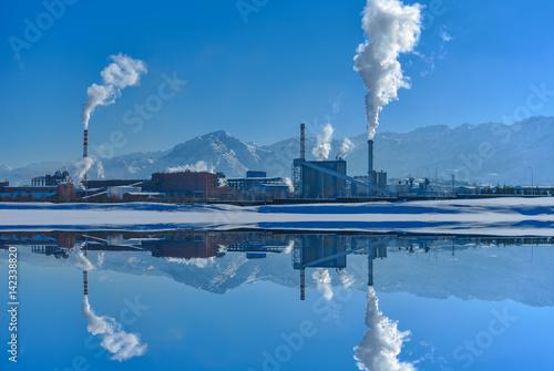 Fényképezés kirlilik & fabrika dumanı
