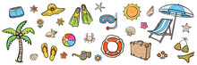 Farbiges Illustrations-Set: SO...