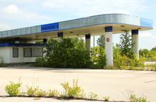 An Abandoned Petrol Station