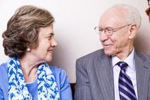 Elderly Couple In Love