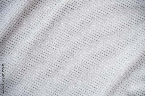 Sport Wallpaper Texture: White Sports Jersey Fabric Texture Background