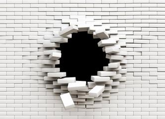 FototapetaHole in the wall