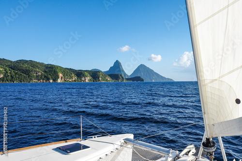 Foto op Plexiglas Caraïben Kleine Antillen - St. Lucia - Soufriere