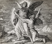 Jacob Wrestling With The Angel...