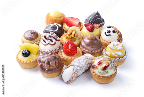 Mixed pastries Tablou Canvas