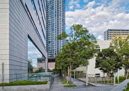 Fototapety, obrazy: High-rise residential buildings in modern Tokyo