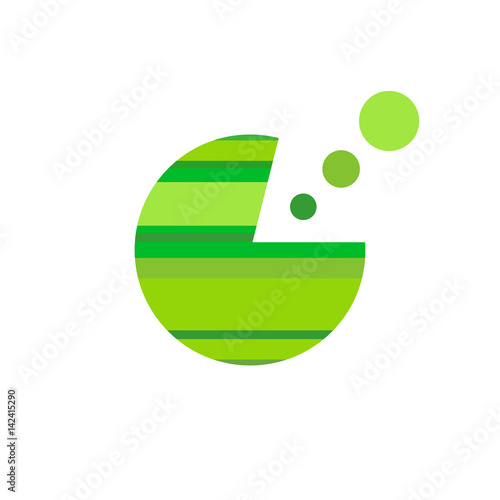 Fotografie, Obraz  Business Abstract Circle icon