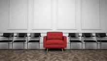 Single Armchair / Black Chairs