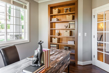 Staged Contemporary Office