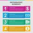 Income infographic design with elements.