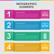 Logistic infographic design with elements.
