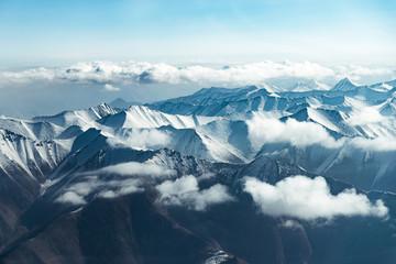 FototapetaHimalaya mountains. View from the airplane