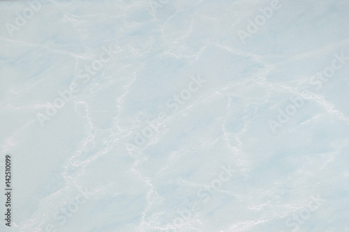 Canvas Prints Marble Marble floor / Light blue marble background.