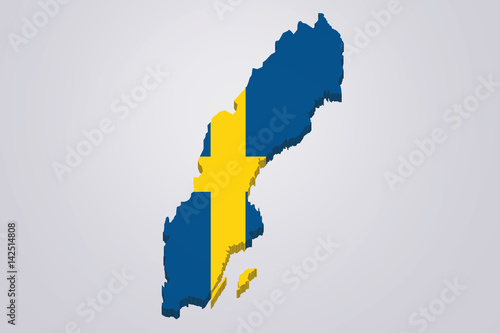 Sweden 3D map with flag white background - Buy this stock ... on street view of sweden, outline map of sweden, blackout map of sweden, interactive map of sweden, travel map of sweden, coloring map of sweden, cartoon map of sweden, cute map of sweden, vintage map of sweden, hd map of sweden, food map of sweden, terrain map of sweden, print map of sweden, google map of sweden, black map of sweden,