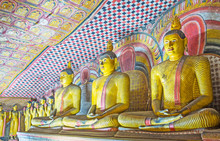 The Statues Of Lord Buddha In ...