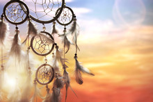 Dream Catcher At Sunset